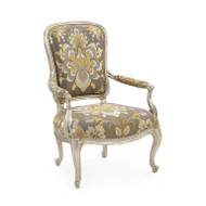 Trianon Chair - Damask Fabric