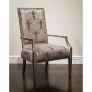 Rennes Armchair - Silver Finish
