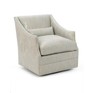 Mid-Sized Occasional Swivel Glider Armchair