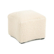 Curved Ottoman - Ivory Boicle