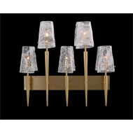 Coffee Bronze Torch Wall Sconce