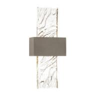 Glass Panel Single-Light Wall Sconce