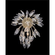 Reveille: Crystal Constellation Single-Light Wall Sconce