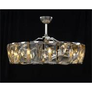 Ten-Light Fandelier - Crystal