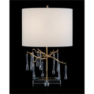 Branched Crystal Table Lamp - Short