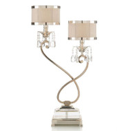Two-Light Curly Lamp - Left