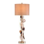 Falling Agate Buffet Lamp