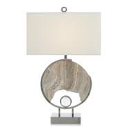 Grey Marble Galaxy Table Lamp