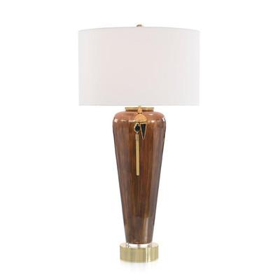 Lagniappe Brown Enamel Table Lamp