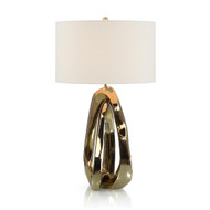 Amorphic Brass Table Lamp