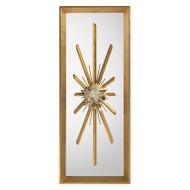 Golden Crystal Burst Mirror I