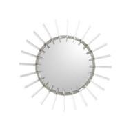 Cloe Mirror in Nickel