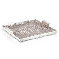 Alligator Textured Aluminum Tray I