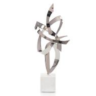 Ribbon Sculpture - Nickel