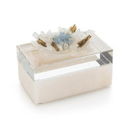Festooned in Stones Box with Celestite