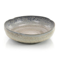 Misty Cream and Aqua Bowl