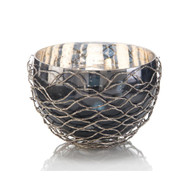 Woven Nickel Bowl