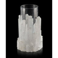 Natural Selenite Candleholder/Vase - Small