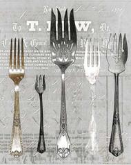 Art Classics Five Forks Black & White