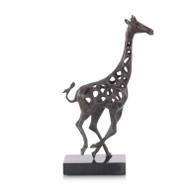 Giraffe in Motion I - Bronze
