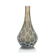 The Look of Agate Handblown Glass Vase II