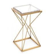 Geometric Martini Table