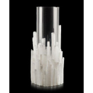 Natural Selenite Candleholder/Vase - Large