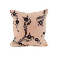 Blush Ultra Suede Pillow - Square