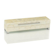 White Capiz Shell Box - Small
