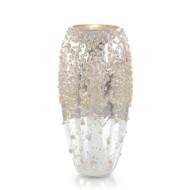 Encrusted in Sparkle Vase