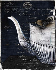 Art Classics Teapot Left Black and White