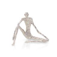 Nickel Sitting Sculpture