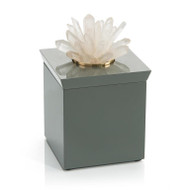 Grey Box with Quartz - Square