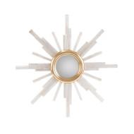 Selenite Star Mirror