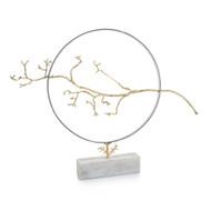 Hoop and Branch Sculpture