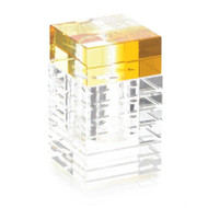 Canary Yellow Crystal Box
