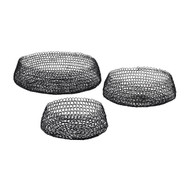Lazy Susan Welded Ring Bowls (Set Of 3) (Store)