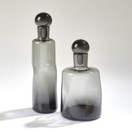 Pinched Decanter - Grey - Tall
