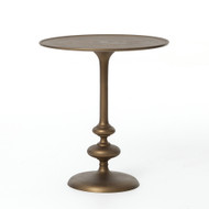 Four Hands Marlow Matchstick Pedestal Table - Matte B