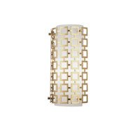 Jonathan Adler Parker Half Round Wall Sconce - Antique Brass