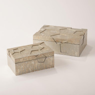 Studio A Cosmo Box - Champagne Silver Leaf - Sm
