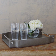 Serpentine Serving Tray - Grey Pebble