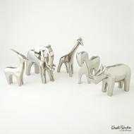 Elephant - Bright Silver