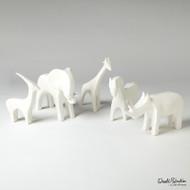 Elephant - Matte White