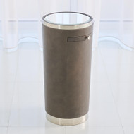 Studio A Hudson Tray Table - Nickel/Charcoal
