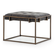 Four Hands Oxford End Table - Ebony