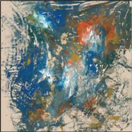 Toile Naturelle Blue I