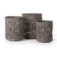 Four Hands Natural Baskets (Set Of 3)