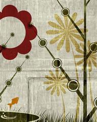 Art Classics Garden Mural 4