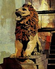 Art Classics Loop Seated Lion